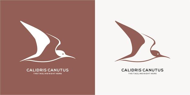 Sammlung von vogel-silhouetten