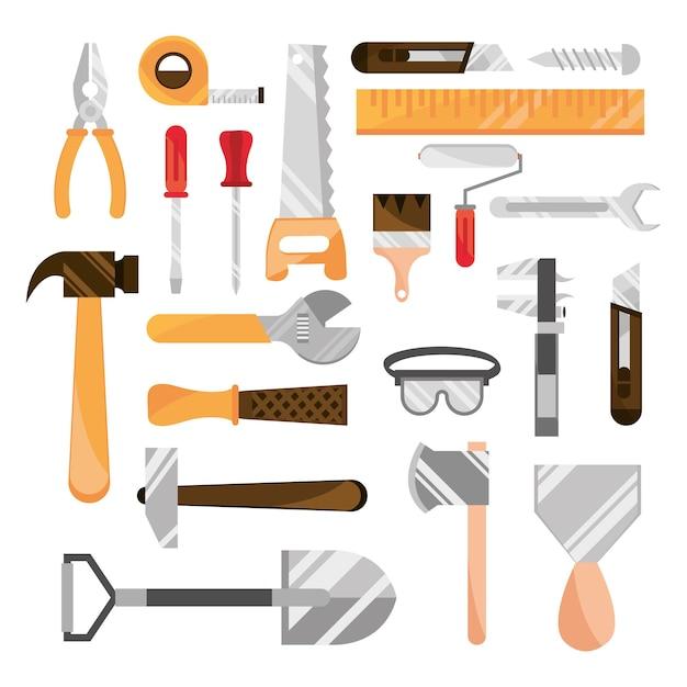 Sammlung von werkzeugkästen