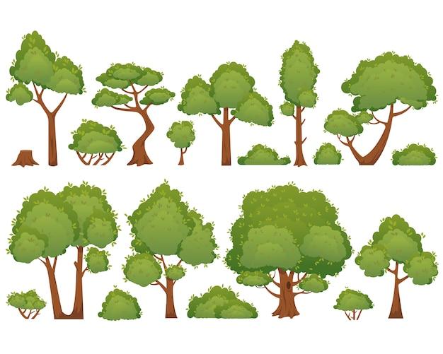 Sammlungsbaumkarikatur