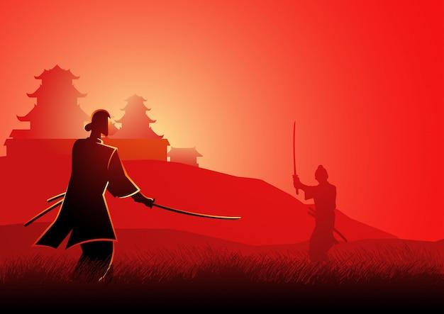 Samurai-duell