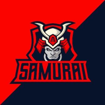 Samurai esport und sport logo sport