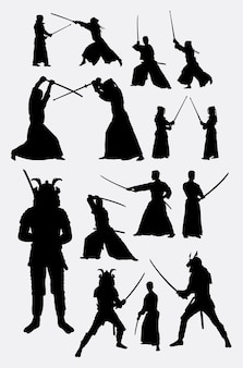 Samurai-japan-silhouette