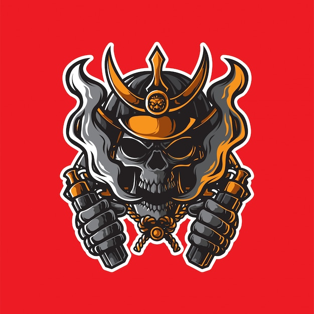 Samurai vapor store logo