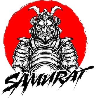 Samurai-vektor-design