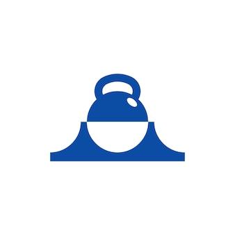 San francisco fitness-logo-vorlage