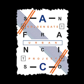 San francisco typografie design