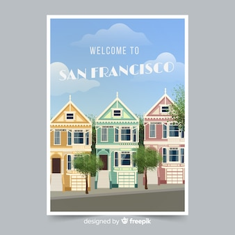 San francisco werbeflyer