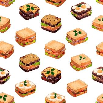 Sandwich-muster