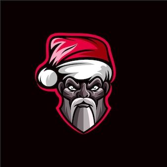 Santa claus design illustration