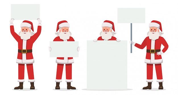 Santa claus zeichen
