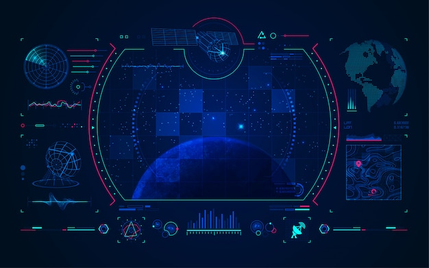 Satelliten- und kommunikationstechnik schnittstelle