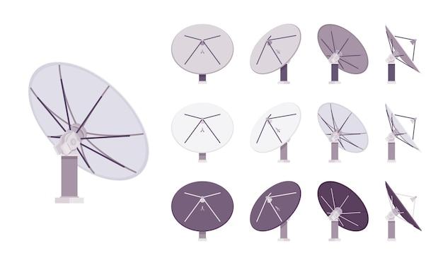 Satellitenantennen-set