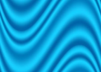 Satin blaue Textur Illustration. Blauer Textilhintergrund.