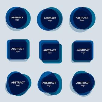 Satz abstrakte ausweisdesigne