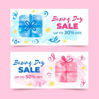 Satz boxing day event banner