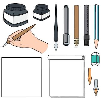 Satz briefpapier