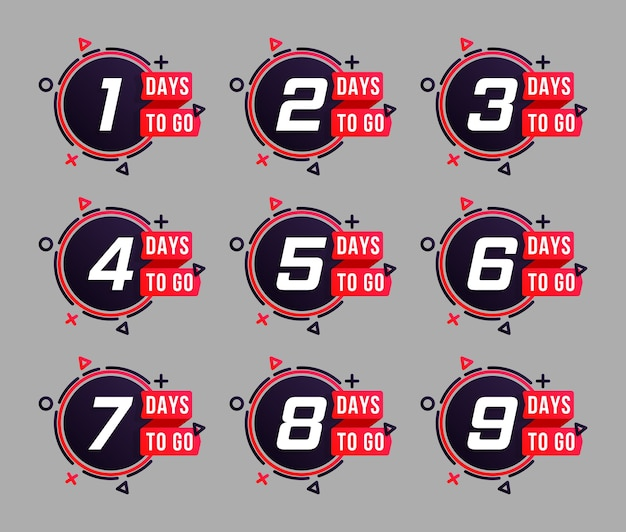 Satz countdown-designs