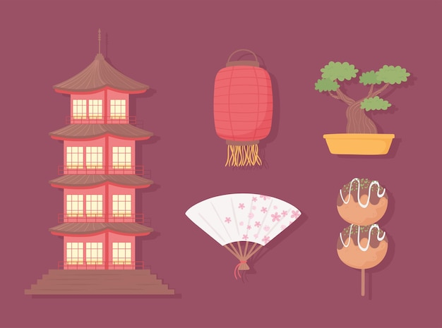 Satz der japanischen kultur