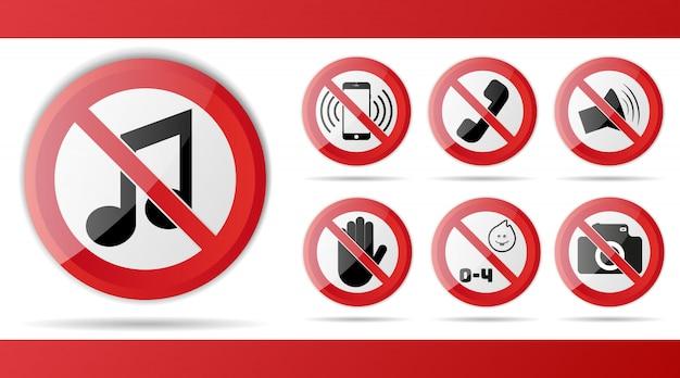Satz des roten verbotszeichens