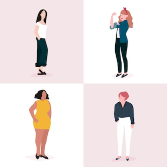 Satz des vollen Körpervektors der starken Frauen
