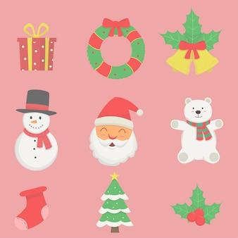 Satz element weihnachten