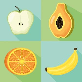 Satz früchte