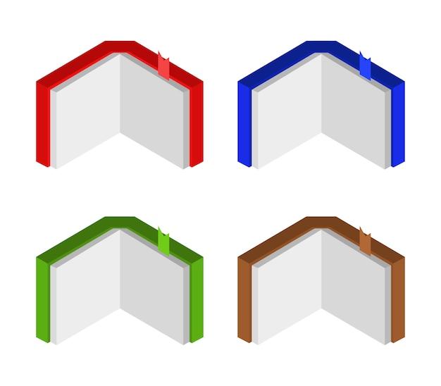 Satz isometrischer bücher
