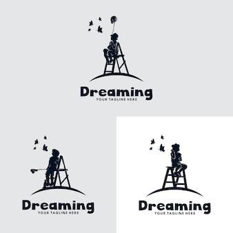 Satz kinder traum logo