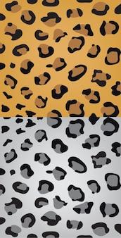 Satz leopardenfellbeschaffenheit, hintergrund