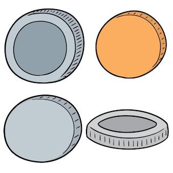 Satz münzen