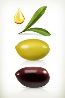 Satz oliven