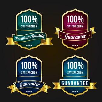 Satz qualitätsetiketten