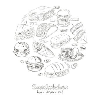 Satz sandwiches.