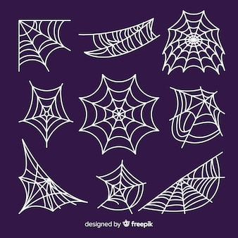 Satz spinnennetze