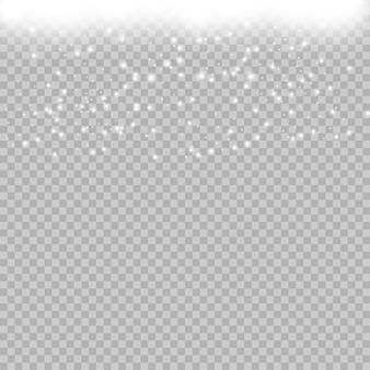 Satz sterne auf einem transparenten weißen und grauen hintergrund auf einem schachbrett.