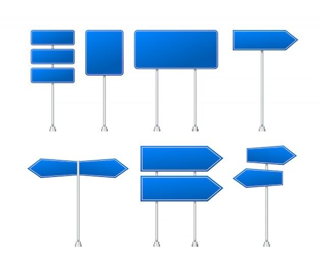 Satz verkehrszeichen lokalisiert auf transparent
