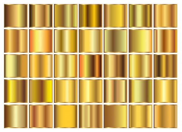 Satz von goldverläufen
