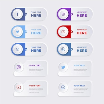 Satz von infografik-elementen