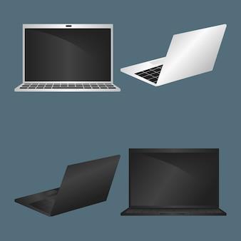 Satz von laptop