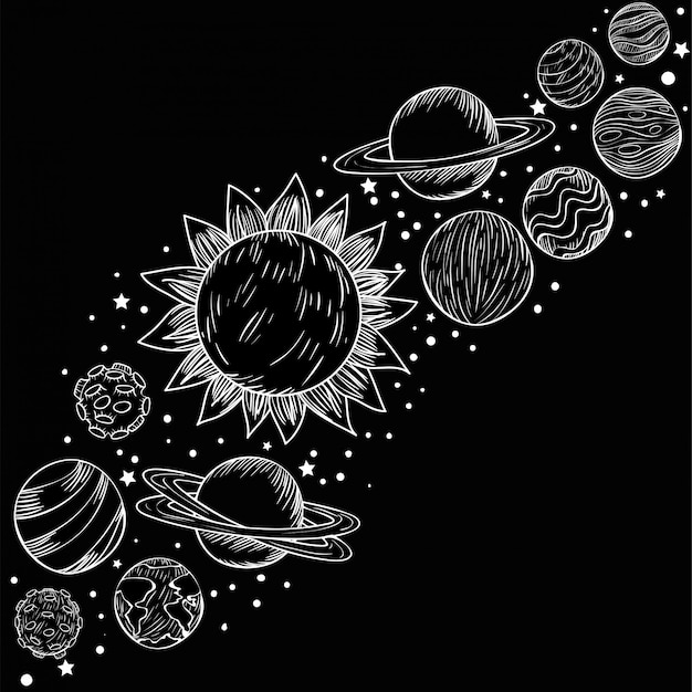 Satz von planeten