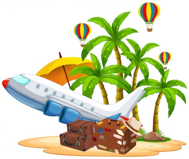 Satz von reiseobjekt