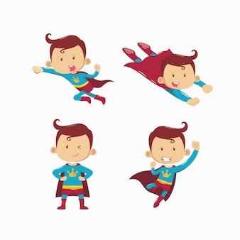 Satz von superhelden