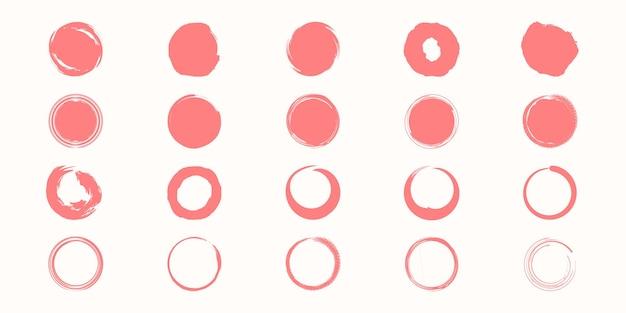 Satz von vektorschwarzlack-stil-textur.