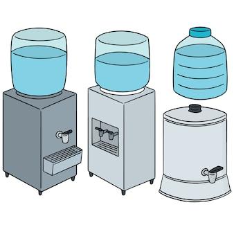 Satz wasserkühler