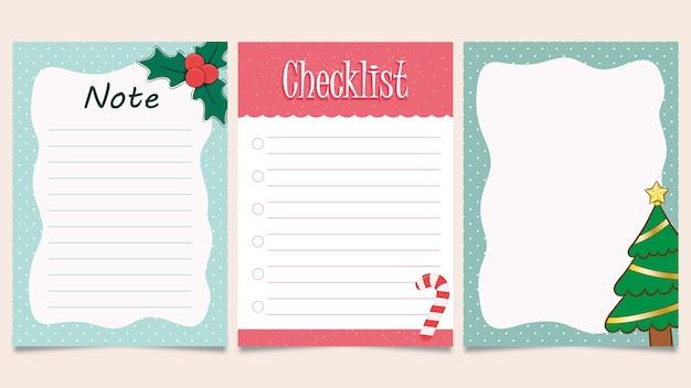 Satz weihnachtskartenvorlage zum ausdrucken