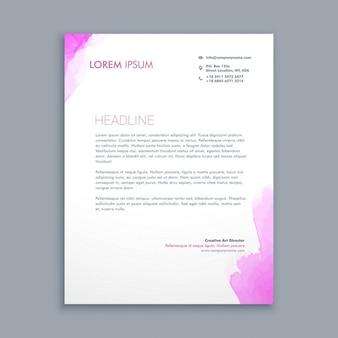 Sauber corporate briefpapier design