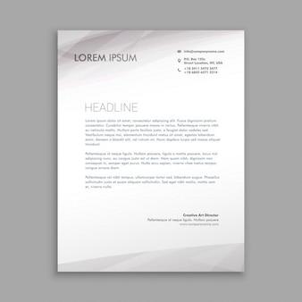 Sauber minimal briefpapier design