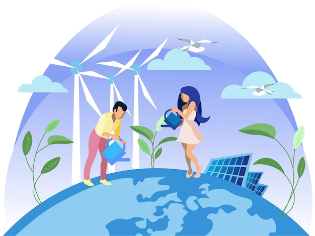 Saubere elektrische energie