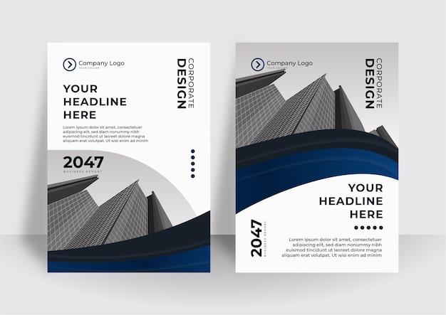 Saubere moderne abstrakte cover-vorlage. kann für präsentationsdesign verwendet werden. einfacher geometrischer folienhintergrund