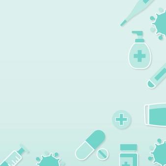 Sauberer medizinischer hintergrund